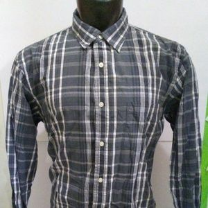 Haggar Button Front Long Sleeve Shirt